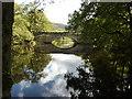 SK2475 : New Bridge, River Derwent, Calver by Peter Barr