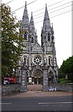 W6671 : St. Fin Barre's Cathedral - west end, Cork by P L Chadwick