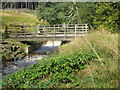 SD6916 : Bridge over Stones Bank Brook by Peter Fleming