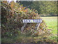 TM2739 : Back Road sign by Adrian Cable