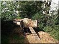 TQ4063 : Muck Wagon, Nash Farm by David Anstiss
