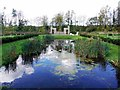 NZ3429 : Bottle Pond and Bono Retiro, Hardwick Hall Country Park by Andrew Curtis