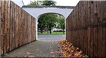 J4669 : Footpath, Comber by Albert Bridge