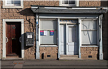 NT9261 : A disused shop in Ayton by Walter Baxter
