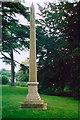 SP3152 : Obelisk, Compton Verney  by Jean Nicholson