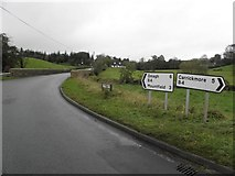 H5373 : B4, Drumnakilly Road by Kenneth  Allen