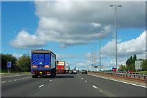 SE4338 : A1(M) junction 44 by Robin Webster