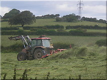 SD4663 : Hay Time - Lancaster by Tom Howard