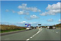 SE4145 : A1(M) - exit at junction 45 by Robin Webster