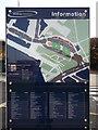 TQ7568 : Chatham Waterfront Map by David Anstiss