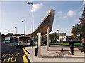 TQ7568 : Platform B, Chatham Bus Station (3) by David Anstiss