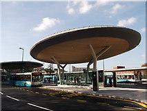 TQ7568 : Platform A, Chatham Bus Station by David Anstiss