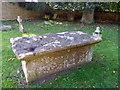ST8115 : Tomb, St Nicholas Churchyard by Maigheach-gheal
