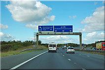 SE4156 : A1(M) junction 47 by Robin Webster