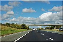 SE3868 : A1(M) - B6265 bridge by Robin Webster