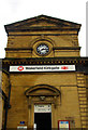 SE3320 : Pedimented centrepiece, Kirkgate Station, Wakefield by Julian Osley