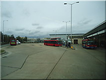 TQ0975 : Hatton Cross bus station by Stacey Harris