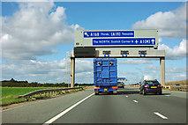 SE3771 : A1(M) junction 49 by Robin Webster