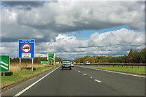 SE4178 : A168 - 200 m to Thirsk exit by Robin Webster