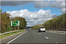 SE4380 : A168 - 1/2 mile to A19 junction by Robin Webster