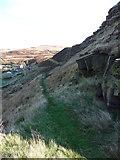 SE0511 : Moorland path, Scout by Samantha Waddington