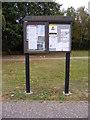 TM2042 : Purdis Farm Village Notice Board by Adrian Cable