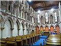 NT9065 : Inside Coldingham Priory by kim traynor