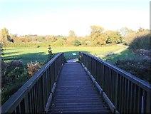 SP3365 : Footbridge over the River Leam by David P Howard
