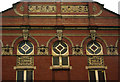 SE3220 : Detail of facade, Theatre Royal, Wakefield (1894) by Julian Osley