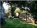 SU1790 : West churchyard, St Leonard's Church, Stanton Fitzwarren by Brian Robert Marshall