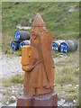 NB0331 : Lewis Chessman Figure, Red River by Colin Smith