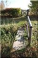 TQ7436 : Footbridge and Gate on Footpath, near Glassenbury by Julian P Guffogg