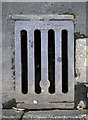 J5979 : Gully grating, Donaghadee by Rossographer
