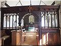 SU1332 : Church of St Lawrence- Chancel screen by Jonathan Kington