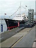 NT2677 : HMY Britannia, Leith by Chris Allen