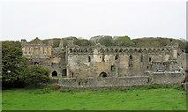 SM7525 : St David's Bishop's Palace southern aspect by Stuart Logan