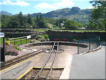 NY1700 : The turntable at Dalegarth Station by Rod Allday