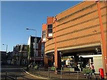 TQ2850 : Building on Station Road, Redhill by Derek Harper
