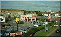 SU3813 : KFC from  the Millbrook flyover by Ian S