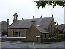 HU4039 : Scalloway: the Methodist church by Chris Downer