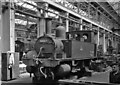 SU4518 : Ex-LSW 0-4-0T inside Eastleigh Works by Ben Brooksbank