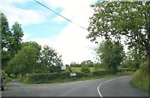 N7590 : The junction of the R164 and the Tirawinnea Road at Corcarra, Co Meath by Eric Jones