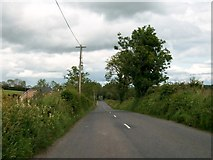 N7589 : The R164 south of Kilfannan, Co Meath by Eric Jones