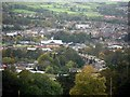 NY9464 : Hexham from Oakwood Bank by Andrew Curtis