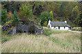 NH8908 : Lime kiln near Loch an Eilein, Rothiemurchus by Phil Champion