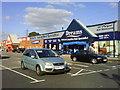 SU1384 : Retail units at Mannington by Steve Daniels