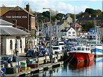 SY6778 : Quay and harbour, Weymouth by Brian Robert Marshall