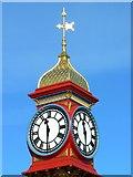 SY6879 : The Jubilee Clock clocks, The Esplanade, Weymouth by Brian Robert Marshall