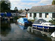 TQ0172 : Bell Weir Boatyard by Eirian Evans