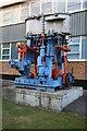 SU4866 : Preserved marine engine - Newbury by Chris Allen